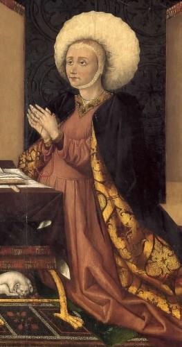 Fig. 3. Marquesa de Santillana. Jorge el Inglés.1455