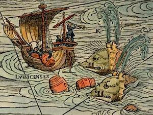 Carta Marina, Olaus Magnus, 1539